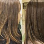 ボリュームダウンが同時にできる髪質改善カラー