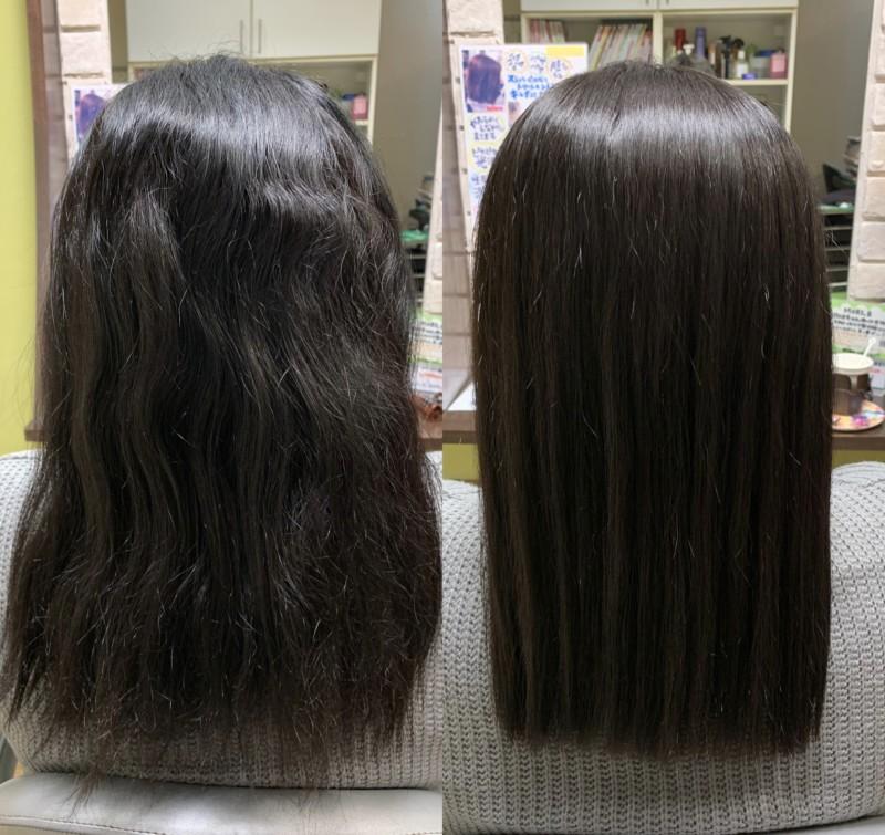 髪 質 改善 と 縮 毛 矯正 の 違い